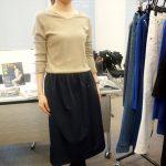 ウエストゴムで楽ちんキレイ♪50代ふんわりスカートレビュー | 黒田知永子コーディネイト