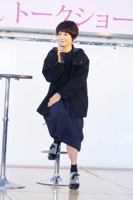黒田知永子13時の公演で着られていたお洋服コーデ