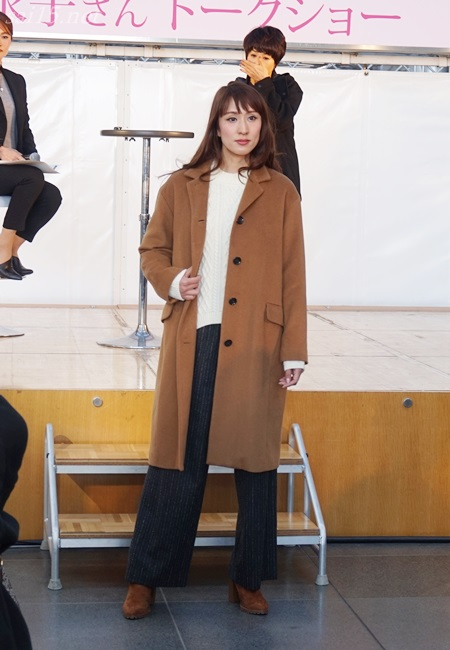 黒田知永子 大丸梅田 ファッションコーデイベント