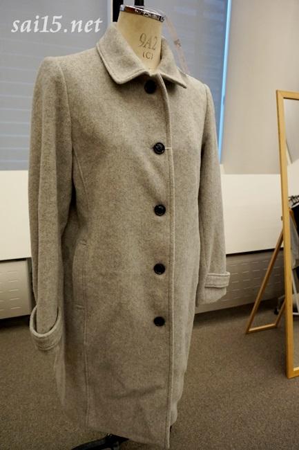 エアーウールジャケットコート