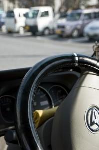 自動車のハンドル