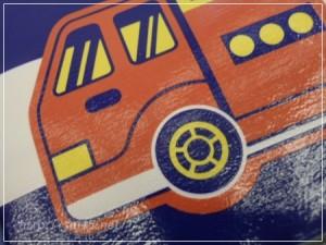 ランドセルカバー 車ストライプ
