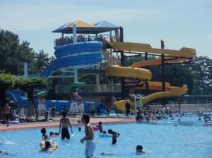 浜寺公園プール スライダー