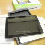 タブレット、Acer/エイサー『ICONIA TABA200-S08G』買ったレビュー