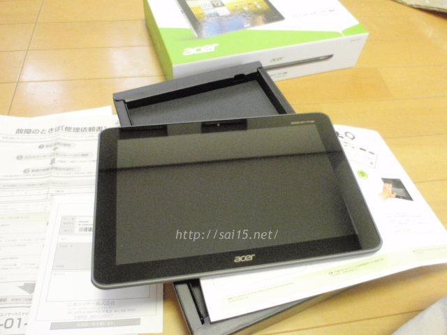 Acer「ICONIA TAB A200-S08G」