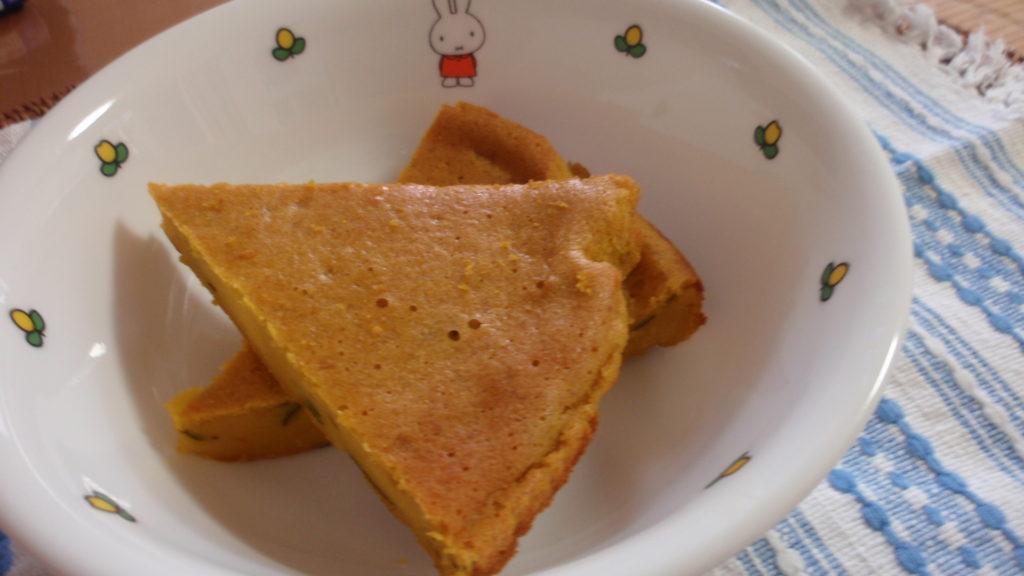 簡単パンプキンケーキ