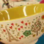 ベルメゾンンの「ミニラボ(mini labo) 」の新しいお茶わんは食洗機対応!(もちろんカワイイ)