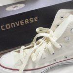 【靴】コンバース オールスターズ(CANVAS ALL STAR HI WHITE) 23.0cm買ってみた