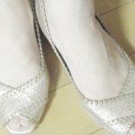 【靴】ローズオットー(Rose otto)バックバンドパンプスを買ってみた