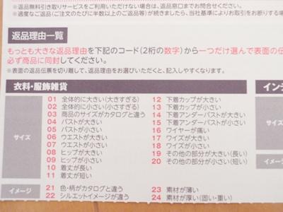 ニッセン返品伝票詳細