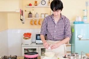 卵 キッチン