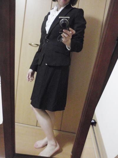 ニッセン スカートスーツ9号