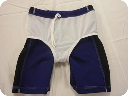 男子ジュニア140 ラッシュガード水泳パンツ