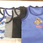 1枚あたり296円!激安男の子プリントランニングシャツ・感想レビュー