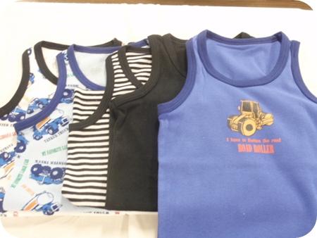 男子ジュニア プリントランニングシャツ140