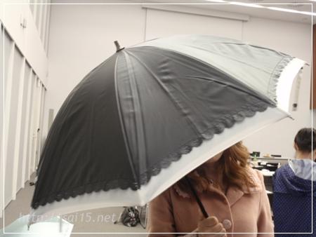 【晴雨兼用二重張りUV日傘】ショート