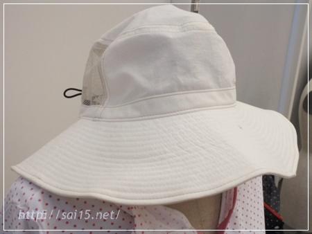 ママ水着 UVはっ水帽子 正面