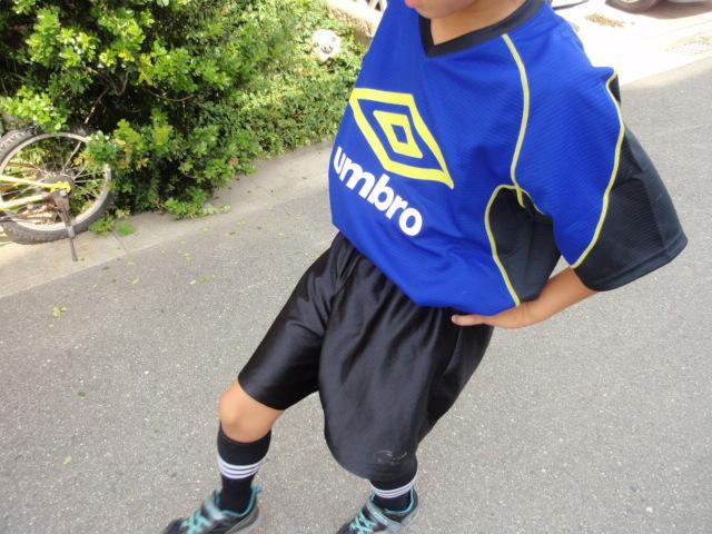 サッカー 長男