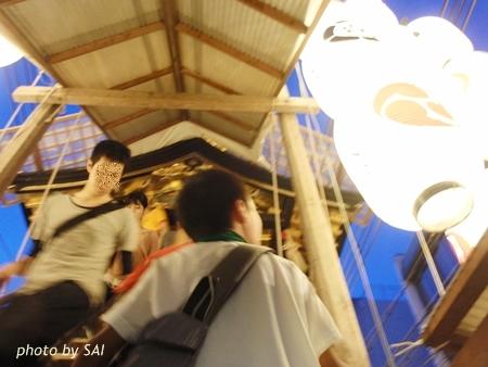 祇園祭 鉾に上る