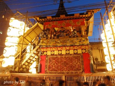 岩戸鉾 祇園祭 夜