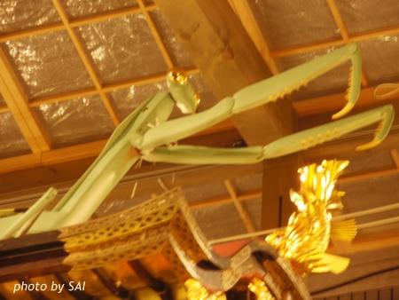 蟷螂山 カマキリ 祇園祭り