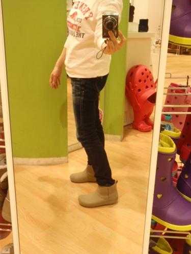 試着画像【ショーティエッサ シンセティック スエード ブーツ ウィメン(shortyessa synthetic suede boot w)】