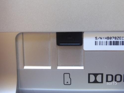 レノボヨガタブレット マイクロSDスロット1
