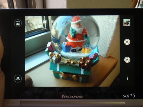 Lenovo yoga tablet 8 カメラ画像