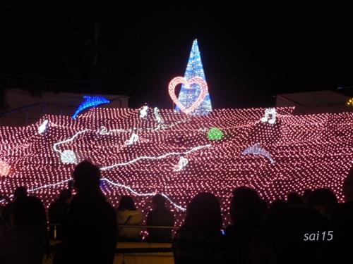 なんばパークス クリスマスイルミネーション