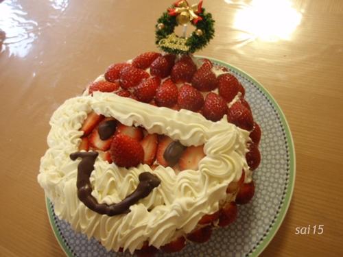 クックパッドクリスマスケーキ