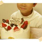 【小1】次男くんが7歳の誕生日でした♪ ひらぱーで雪遊び