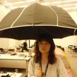 大きな人気日傘【晴雨兼用UV日傘(ロング)】画像あり・口コミレビュー♪