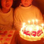 【小2】次男くん、8歳のお誕生日♪