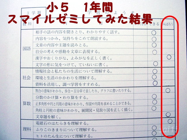2長男小5 3学期 通信簿 (12)