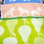 吸水性&速乾性タオル! ベルメゾン『北欧調デザインの速乾さらふわタオル』レビュー