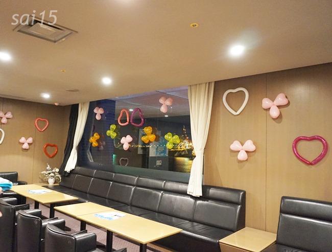 待合室のソファ 海遊館ヨガxベルメゾン (29)