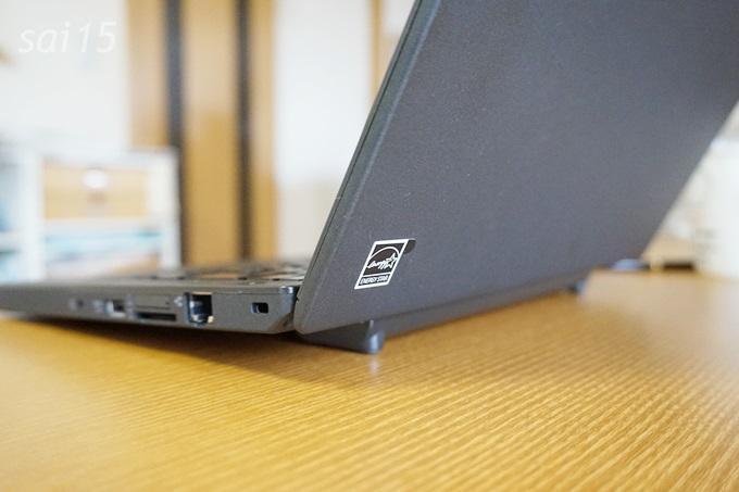 斜めで見やすい レノボ ThinkPad X250