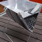 ベルメゾン「ステンレス製 折りたたみ式コンパクト バーベキューコンロ」口コミレビュー