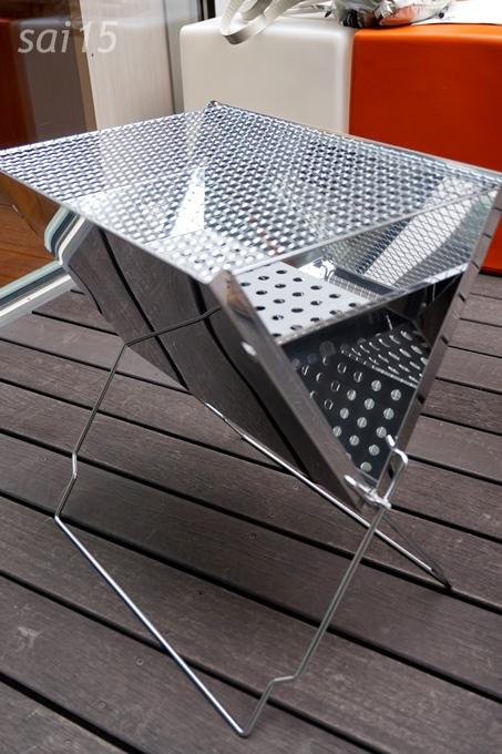 ステンレス製折り畳み式・コンパクトバーベキューコンロBellemaison (42)