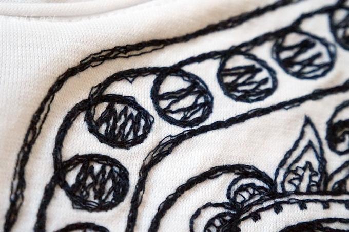 刺繍Tシャツ ビューティアンドユースユナイテッドアローズ古着