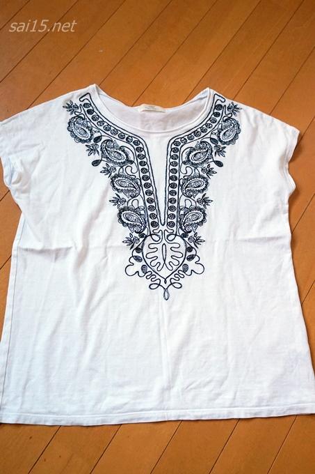 ビューティアンドユースユナイテッドアローズ 刺繍Tシャツ口コミ