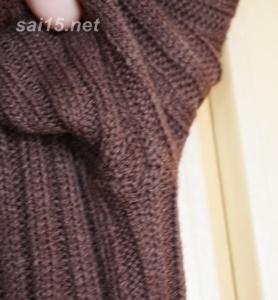脇下の縫製・ティティベイト リブニットワンピース