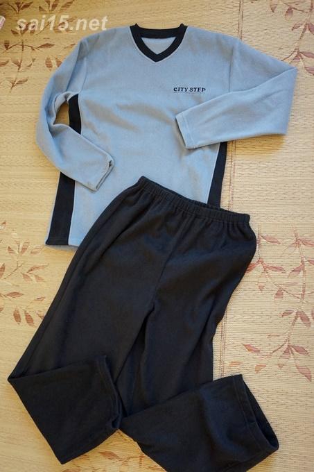 フリースTパジャマを男子中学生が着てみた。セシール