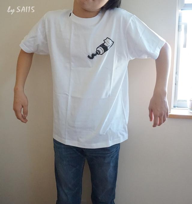 かっこいい ㏌ink Tシャツ (2)