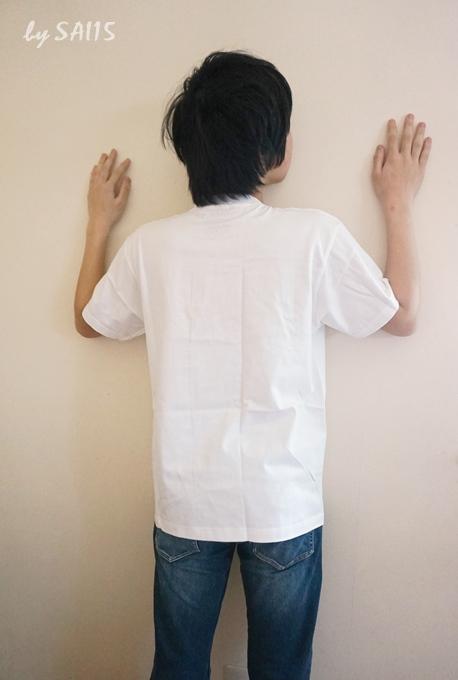後ろ見ごろ inink Tシャツ