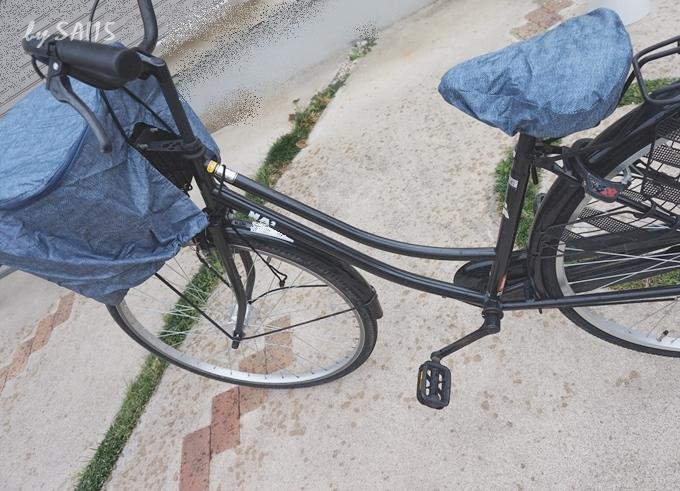 26インチ自転車 前カゴカバー雨