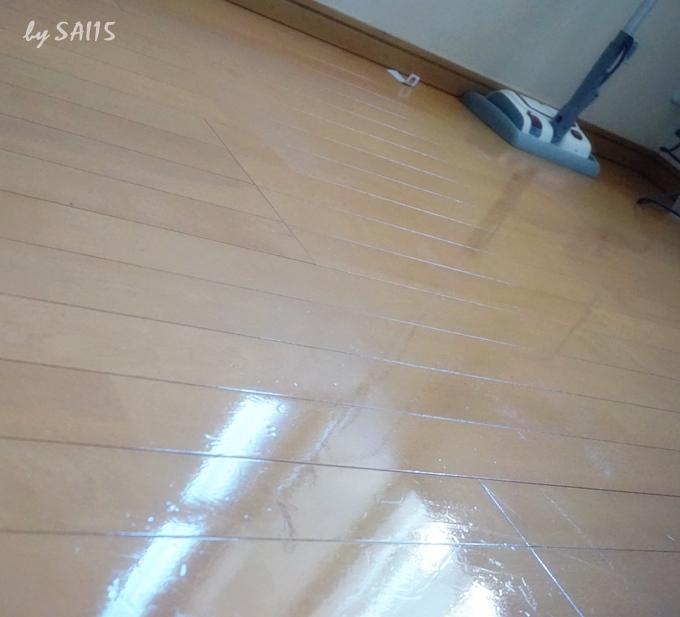 ピカピカの床