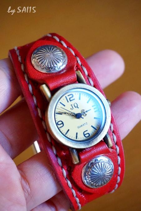 刻印 革 腕時計 口コミ