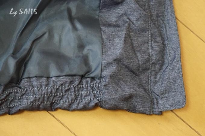 裾はコクーンシルエット ベルーナ・リアルファー付ダウンコート