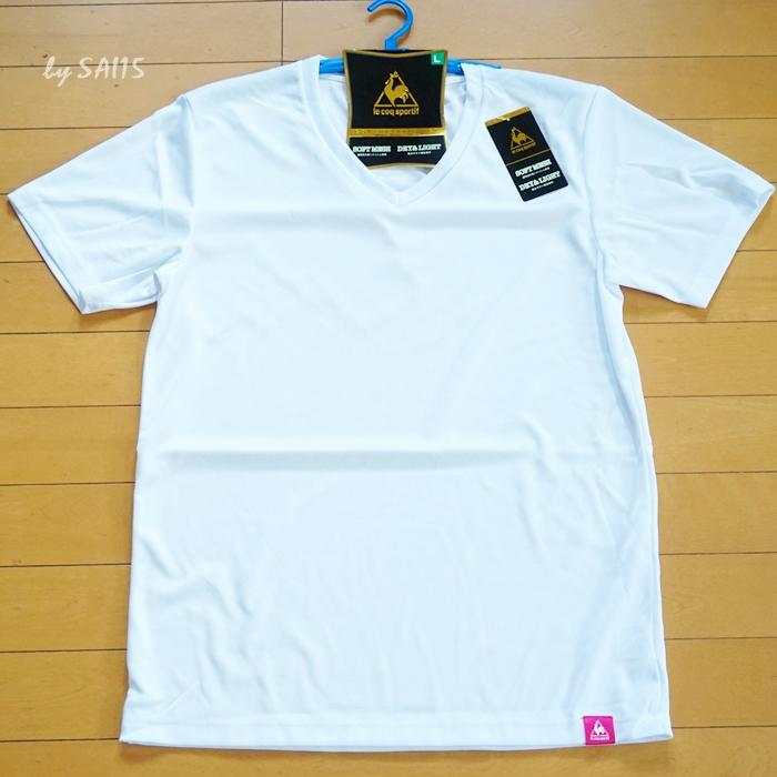 ルコック・白シャツ